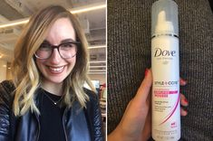 Dove Volume Amplifier Mousse gives you massive volume without making it feel like there's any kind of weight or gunk in your hair.   7 Life-Changing Beauty Products You'll Wish You Knew About Sooner