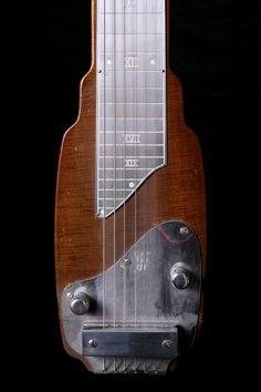 Fender Early 1950's Lap Steel Guitar - Norman's Rare Guitars Guitar Rack, Cool Guitar, Lap Steel Guitar, Rare Guitars, Voodoo, Musical Instruments, Graham, Evolution, Bass