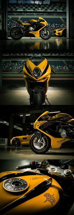 Moto :   Illustration   Description   MERCEDES-AMG X MV AGUSTA F3 800