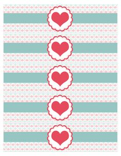 Free Bottle Labels Template Awesome Valentine S Day Party Free Printables How to Nest for Less™ Printable Water Bottle Labels, Printable Labels, Free Printables, Labels Free, Valentines Day Party, Valentines For Kids, Valentine Day Crafts, Wedding Bottles, Label Templates