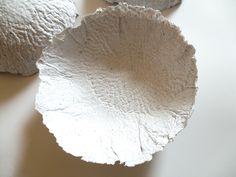 Miska k naplnění / Zboží prodejce FF design Scandinavian Style, Paper Bowls, Decoration, Serving Bowls, White Paper, Tableware, Design, Touch, Home