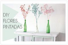 DIY: Flores llenas de color para tu casa