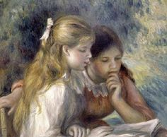 Renoir, la lectura, 1919