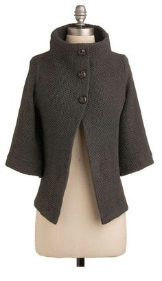 Scholastic Mid-length 3 Corner Coffee Shop Cardigan in Stone from ModCloth. Saved to coats and cardigans. Mode Style, Style Me, Inspiration Mode, Vintage Sweaters, Modcloth, Dress To Impress, Mantel, Fashion Forward, Autumn Fashion