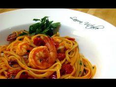 "Linguine with Shrimp Al Diablo Recipe by Laura Vitale ""Laura In The Kitc..."