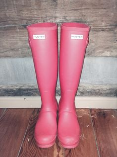 HUNTERS RAIN BOOTS on sale for $110. {Comment if interested}
