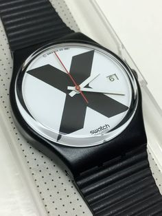 Mint Condition Vintage Swatch Watch X-Rated GB406 by ThatIsSoFunny