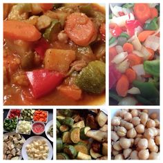 "Lebanese vegetable stew- ""lahmi Bil sini yeah"" or some people call it ""mnazaleh"" U can make it as vegetarian dish or follow tradishion n add cube filet mignon or diff kind of cube beef. #lebanese #stew #vegetarian #food"