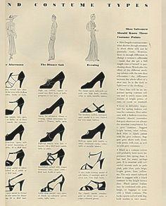 Vintage Purses, Vintage Shoes, Vintage Outfits, 50s Vintage, Retro Shoes, Vintage Images, Vintage Clothing, Vintage Dresses, 1930s Fashion