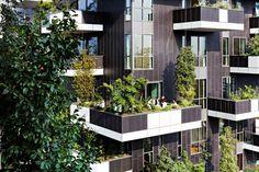 [Bosco Verticale] Bosque vertical en edificio residencial en #Milán #Italia ¡Fascinante!