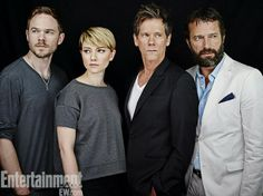 SDCC 2013 -  Kevin Bacon, Shawn Ashmore, Valorie Curry and James Purefoy - The Following
