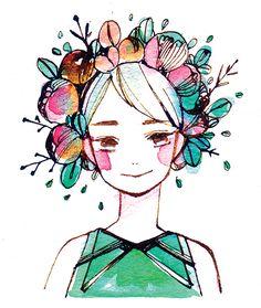 Arty stuff, drawings, paintings, art, graphic design, watercolour, tumblr