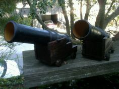 Pirate Cannon Tutorial, red light and cannon noise recording Pirate Kids, Pirate Halloween, Pirate Day, Pirate Birthday, Outdoor Halloween, Fall Halloween, Halloween Party, Pirate Decor, Pirate Theme