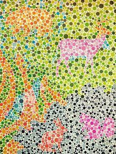 dd637fb7e4b Test ishihara infantil Color Blindness Test