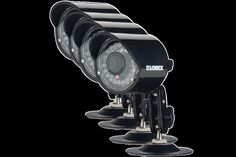 (CLICK IMAGE TWICE FOR DETAILS AND PRICING) Security surveillance cameras outdoor use with night vision (4 pack). A reliable security surveillance cameras solution for your surveillance needs, the cameras have BrightNight viewing with an enhanced low light vision. See More Home Security at http://www.ourgreatshop.com/Home-Security-C235.aspx