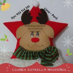 Cojín Estrella Renito Facebook Sign Up, Plush, Christmas Ornaments, Halloween, Toys, Holiday Decor, Home Decor, Ideas, Throw Pillows