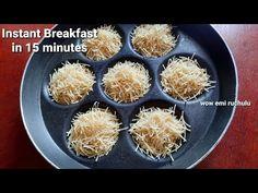 Instant Breakfast Recipe, Delicious Breakfast Recipes, Breakfast Healthy, Yummy Food, Vegetarian Snacks, Vegetarian Breakfast Recipes Indian, Indian Breakfast, Vermicelli Recipes, Chaat Recipe