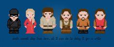The Princess Bride - Cross Stitch PDF Pattern Download http://pixelpowerdesign.com/shop/movies/product/show/331-the-princess-bride
