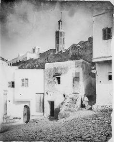 Antonio Cavilla Photographer: Tánger, vista del minarete de la kasbah.