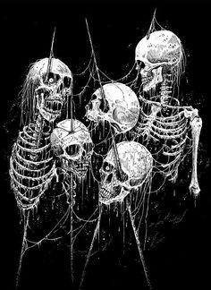 Mark Riddick el arte del Heavy Metal …