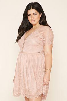 Plus Size Eyelash Lace Dress- Zoe's possible dress