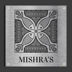 Madhubani Art, Madhubani Painting, Name Plates For Home, Mural Art, Murals, Indian Folk Art, World Cultures, Mandala Art