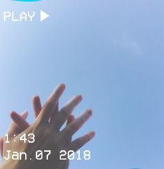 M O O N V E I N S 1 0 1       #vhs #aesthetic #sky #blue #hands #lovers #touch