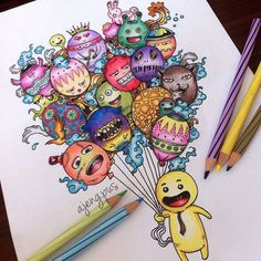 Personal Coloring Page @ajeng.pus Why i love doodle...Instagram photo   Websta (Webstagram)