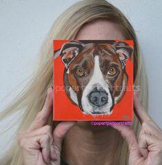 custom pet portrait dog portrait dog by PopArtPetPortraits on Etsy, $75.00 https://www.etsy.com/listing/167979277/custom-pet-portrait-dog-portrait-dog