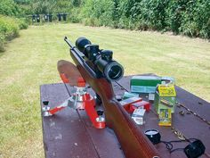 """Here's another one of my articles from """"Shotgun News."""" It was originally published the end of 2004. It's a 4-part series, and this is part 1: What can you do with a 10/22? The Ruger 10/22 is the most popular rimfire gun ever made. There are so many aftermarket parts, upgrades and tunes -- or you can just use it as it comes from factory -- that it's no wonder this gun has sold in the millions for decades: http://thegodfatherofairguns.com/ruger-10-22-part-1.html"""