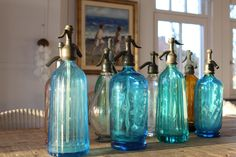 Old French waterbottles