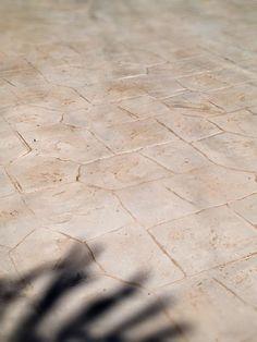 pavimento stampato bianco: stampo Castel stone Flats