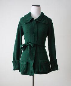 vintage wrap sweater