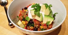 59 Healthy one-pot meals. Oven-Baked Mexican Quinoa Casserole
