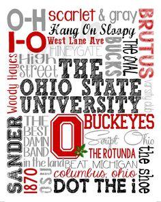 Ohio state buckeyes pictures of the logo wennie in wonderland ohio state subway art httpsfacebookkudlacskustoms voltagebd Choice Image