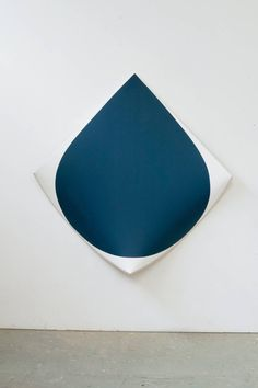 Drop Sea Blue | From a unique collection of abstract paintings at https://www.1stdibs.com/art/paintings/abstract-paintings/
