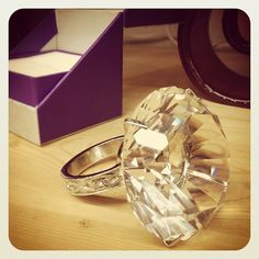 Ring Paperweight from Pier 1  cute idea