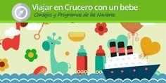 Cada vez más las familias que ven en los cruceros el viaje perfecto.Descubre como viajar en crucero con bebe, consejos y restricciones de navieras.