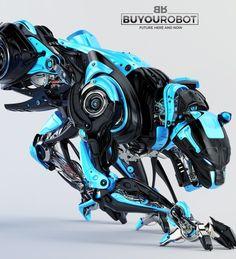 Geek Art Gallery: Concept Art: Panther