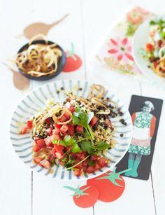 Rezept: Linsen-Bulgur-Salat