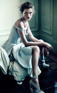 blue evening gown - bellemoonlightdancer