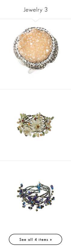 """Jewelry 3"" by ebru-sigirtmac ❤ liked on Polyvore featuring jewelry, rings, hematite, handcrafted jewellery, drusy ring, handcrafted rings, druzy jewelry, drusy jewelry, bracelets and carnelian"