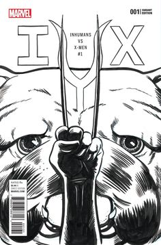 IVX #1 (OF 6) PARTY SKETCH VARIANT