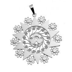 Ciondolo presentosa P9C in argento 925%° cm 4.5