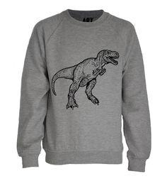 Dinosaur Sweatshirt | ART DISCO Natty would love this!