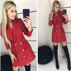 Image may contain: 2 people, people standing Trench Dress, People People, Jackets, Image, Dresses, Fashion, Down Jackets, Vestidos, Moda