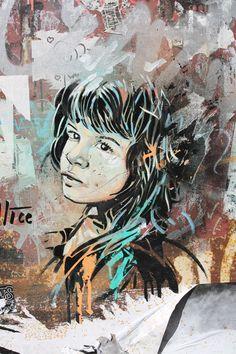 Berlin Street Art- Iolo Huws