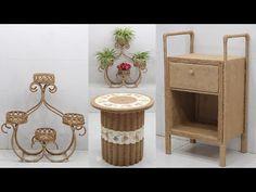 Sisal, Basement House Plans, Jute Crafts, Space Saving, Recycling, Organization, Furniture, Home Decor, Craft Ideas