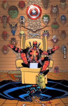 First off/ How did deadpool kill the most powerful being in the universe and make his head a trophy and secondly how did he manage to kill wolverine i thought that wolverine can't die?