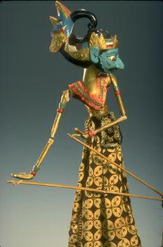 how to make wayang puppets